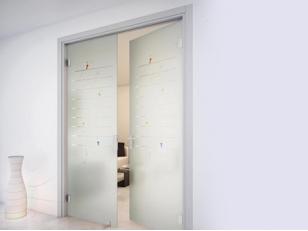 Стеклянные двери - особенности, виды и преимущества