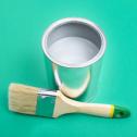 Чем интересна краска для глянцевых поверхностей, как ее использовать в интерьере