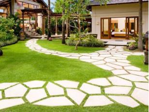 Красивые садовые дорожки. Тротуарная плитка для дорожек на даче