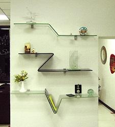 Стеклянная мебель - tricolor
