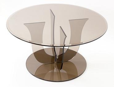 Стеклянные столы - tricolor.com.ua