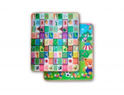 Детский двухсторонний развивающий термоковрик «Алфавит-Футбол» 1800*1000*5 мм - интернет-магазин tricolor.com.ua
