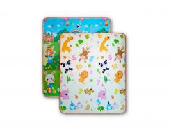 Детский двухсторонний развивающий термоковрик «Футбол-Животные» 1800*1000*5 мм - интернет-магазин tricolor.com.ua
