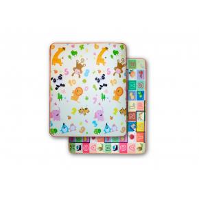 Детский двухсторонний развивающий термоковрик «Животные-Алфавит» 1800*1200*5 мм - интернет-магазин tricolor.com.ua