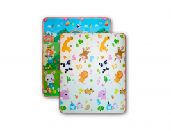 Детский двухсторонний развивающий термоковрик «Футбол-Животные» 1800*1200*5 мм - интернет-магазин tricolor.com.ua