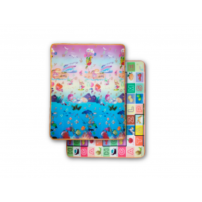 Детский двухсторонний развивающий термоковрик «Аквариум-Алфавит» 1800*1200*5 мм - интернет-магазин tricolor.com.ua
