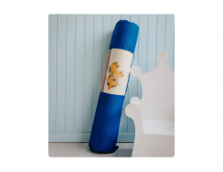 Детский двухсторонний развивающий термоковрик «Животные-Алфавит» 1800*1500*5 мм - изображение 4 - интернет-магазин tricolor.com.ua