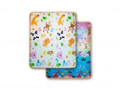 Детский двухсторонний развивающий термоковрик «Животные-Аквариум» 1800*1500*5 мм - интернет-магазин tricolor.com.ua
