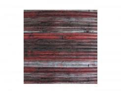 Самоклеющаяся декоративная 3D панель «Бамбук» красно-серый №74 (8 мм)