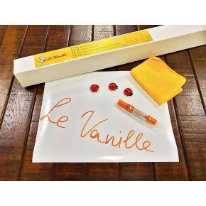 Магнитно-маркерная пленка Le Vanille белая матовая 1,2 м