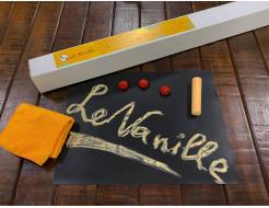 Магнитно-грифельная пленка Le Vanille черная матовая 1,2 м