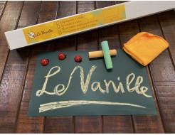 Магнитно-грифельная пленка Le Vanille зеленая матовая 1,2 м - интернет-магазин tricolor.com.ua