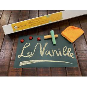 Магнитно-грифельная пленка Le Vanille зеленая матовая 1,2 м