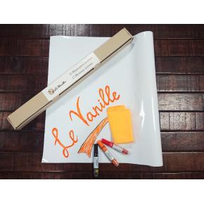 Маркерная пленка Le Vanille PRO белая высокоглянцевая 1,27 м