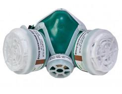 Полумаска Кедр с противогазовыми фильтрами А1Р1