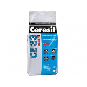 Цветной шов Ceresit CE 33 Plus до 6 мм 100 белый