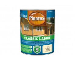 Лазурь фасадная Pinotex Classic Lasur с фунгицидом Тиковое дерево - интернет-магазин tricolor.com.ua