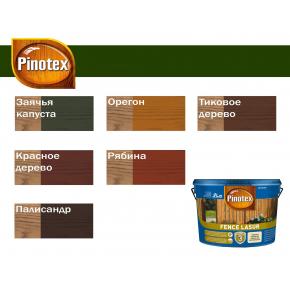 Лазурь защитная Pinotex Fence Lasur для садовых строений Рябина - изображение 2 - интернет-магазин tricolor.com.ua