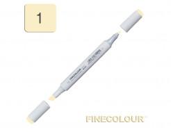 Маркер спиртовой Finecolour Junior 001 лютик Y1 EF101-1