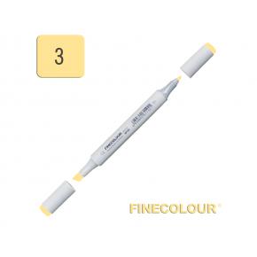 Маркер спиртовой Finecolour Junior 003 желтый Y3 EF101-3