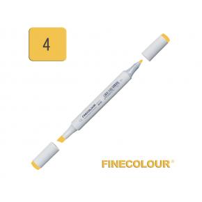 Маркер спиртовой Finecolour Junior 004 желтый наполи Y4 EF101-4