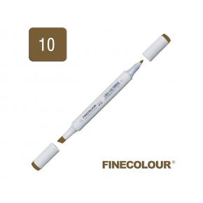 Маркер спиртовой Finecolour Junior 010 зеленая парка YG10 EF101-10