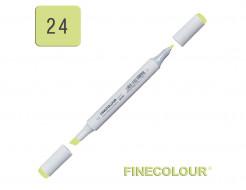 Маркер спиртовой Finecolour Junior 024 серовато-зеленый YG24 EF101-24