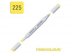 Маркер спиртовой Finecolour Junior 225 кислотный желтый Y225 EF101-225