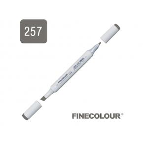 Маркер спиртовой Finecolour Junior 257 серый тонер №8 TG257 EF101-257