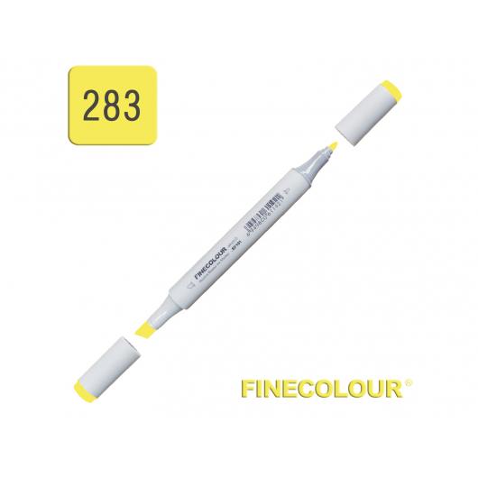 Маркер спиртовой Finecolour Junior 283 флуоресцентный желтый FY283 EF101-283