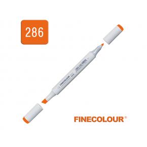 Маркер спиртовой Finecolour Junior 286 флуоресцентный оранжевый FYR286 EF101-286