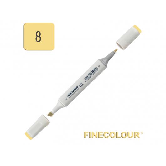 Маркер спиртовой Finecolour Sketchmarker 008 желтоватый Y8 EF100-8