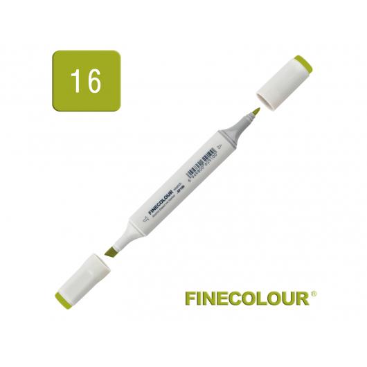 Маркер спиртовой Finecolour Sketchmarker 016 темно-желтовато зеленый YG16 EF100-16