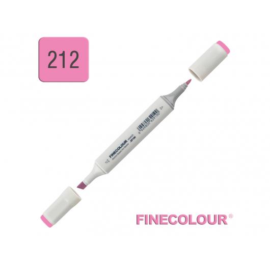 Маркер спиртовой Finecolour Sketchmarker 212 прозрачный розовый RV212 EF100-212
