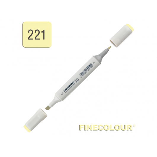 Маркер спиртовой Finecolour Sketchmarker 221 бледно-желтый лимон YG221 EF100-221