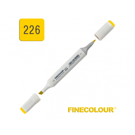 Маркер спиртовой Finecolour Sketchmarker 226 канарейка Y226 EF100-226