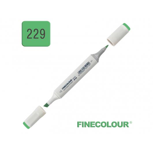 Маркер спиртовой Finecolour Sketchmarker 229 оттенок зеленого YG229 EF100-229