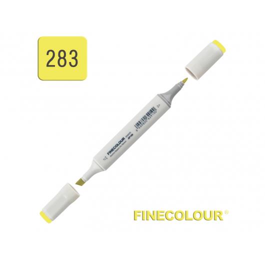 Маркер спиртовой Finecolour Sketchmarker 283 флуоресцентный желтый FY283 EF100-283