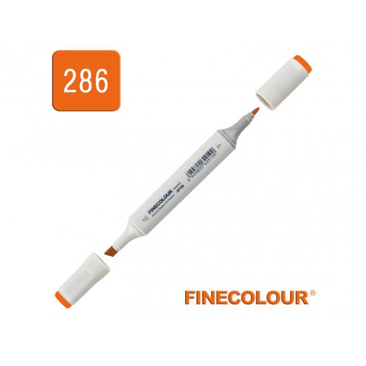 Маркер спиртовой Finecolour Sketchmarker 286 флуоресцентный оранжевый FYR286 EF100-286