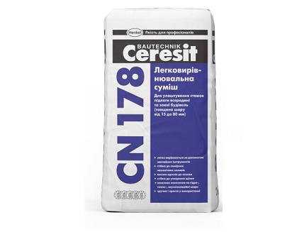 Легковыравниваемая смесь Ceresit