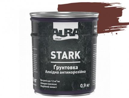 Грунтовка антикоррозионная алкидная Aura Stark ГФ-021 красно-коричневая