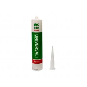 Санитарный силиконовый герметик Rino (белый)