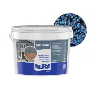 Штукатурка декоративная силиконовая Aura Luxpro Mosaik мозаичная M15 B259 - интернет-магазин tricolor.com.ua