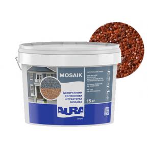 Штукатурка декоративная силиконовая Aura Luxpro Mosaik мозаичная M10 S103 - интернет-магазин tricolor.com.ua