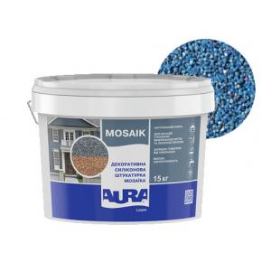Штукатурка декоративная силиконовая Aura Luxpro Mosaik мозаичная M10 S105 - интернет-магазин tricolor.com.ua