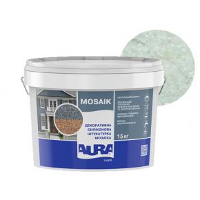 Штукатурка декоративная силиконовая Aura Luxpro Mosaik мозаичная M10 S106 - интернет-магазин tricolor.com.ua