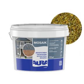 Штукатурка декоративная силиконовая Aura Luxpro Mosaik мозаичная M10 S110 - интернет-магазин tricolor.com.ua