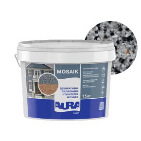 Штукатурка декоративная силиконовая Aura Luxpro Mosaik мозаичная M10 S125 - интернет-магазин tricolor.com.ua