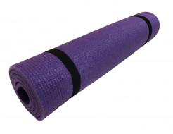 Коврик-каремат Izolon Спортик 8 140х50 фиолетовый с резинками - изображение 2 - интернет-магазин tricolor.com.ua