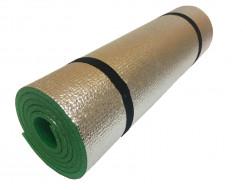 Коврик-каремат Izolon Alu 8 180х50 зеленый с резинками